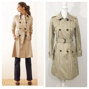 Banana Republic Long Belted Trench Coat